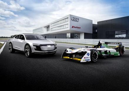 Audi electric racer